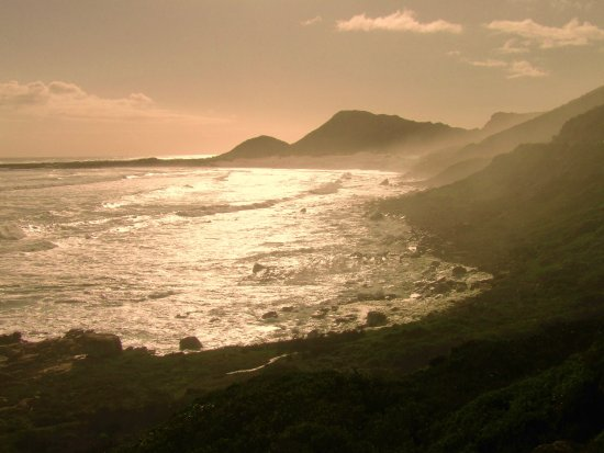 Western Cape, África do Sul: Chapman's peak road....