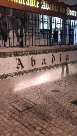 Restaurante Abadia Do Porto: Entree