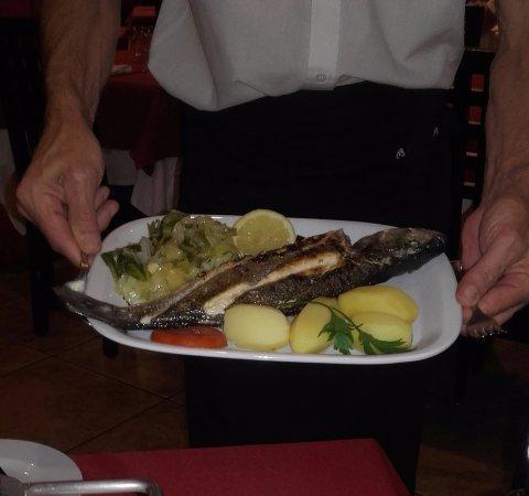 Restaurante Abadia Do Porto: Zeebaars