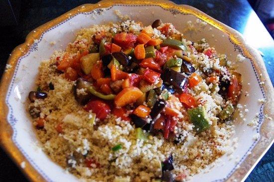 Cinigiano, Italia: cous-cous con le verdure del nostro orto