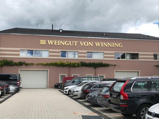 Deidesheim, Germany: Weingut von Winning