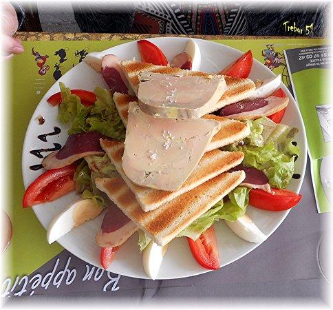 La Faute sur Mer, France: Salade périgourdine