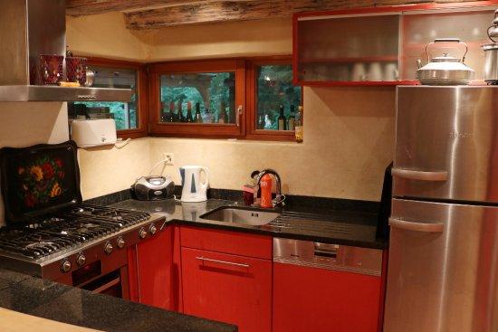 Uetliberg, Schweiz: Guesthouse kitchen