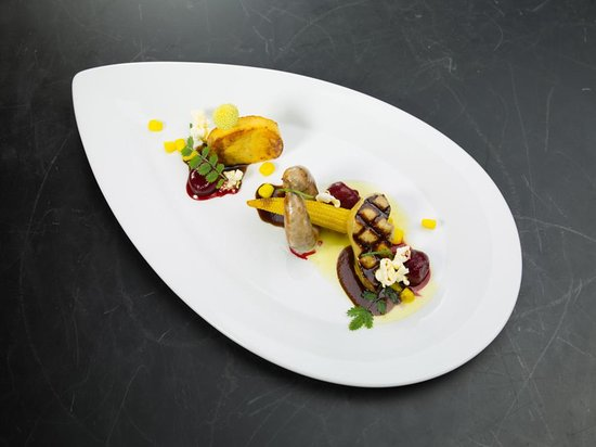 Krone Sihlbrugg: Foie gras - Rande - Mais