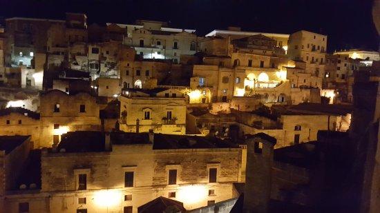 Gaggi, Italy: Matera at Night