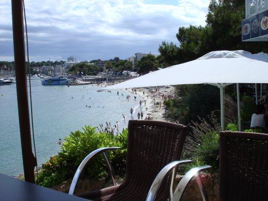 Restaurante Flamingo : View from terrace