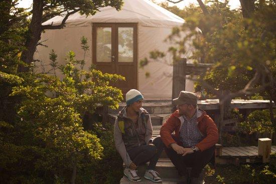 Patagonia Camp: Terraza del Yurt