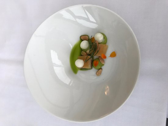 Restaurant Savoy: starter -greetings from the kitchen
