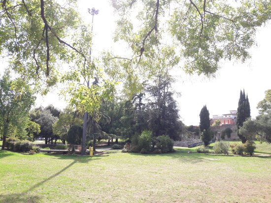 Pistoia, Italia: Pretty small park