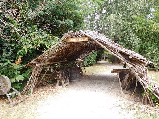 Le Bugue, Francia: L'atelier du feuillardier