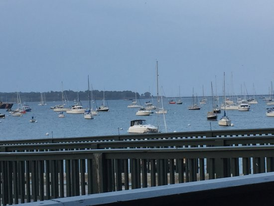 Archer's on the Pier : View from the deck at Archers