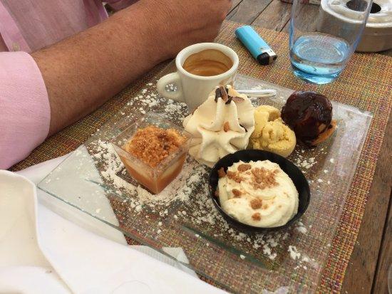 La Napoule, Frankreich: dessert