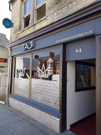 Taj Tandoori: Check out the newly refurbished restaurant