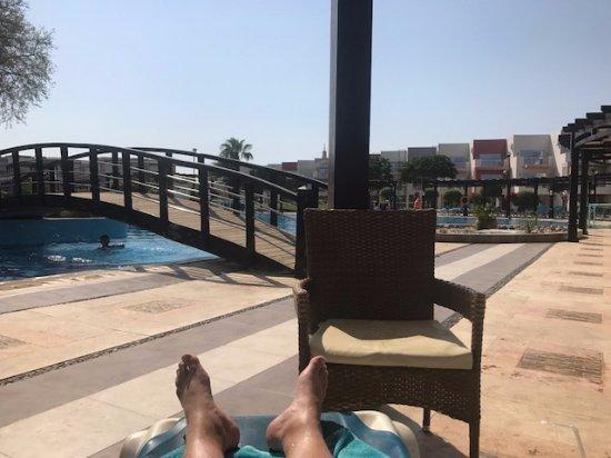 SUNRISE Grand Select Crystal Bay Resort: My favorite seat