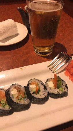 Бетесда, Мэриленд: sushi Roll philly