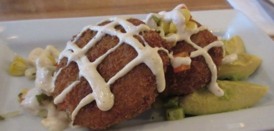Fort Frances, Canadá: Crab Cakes