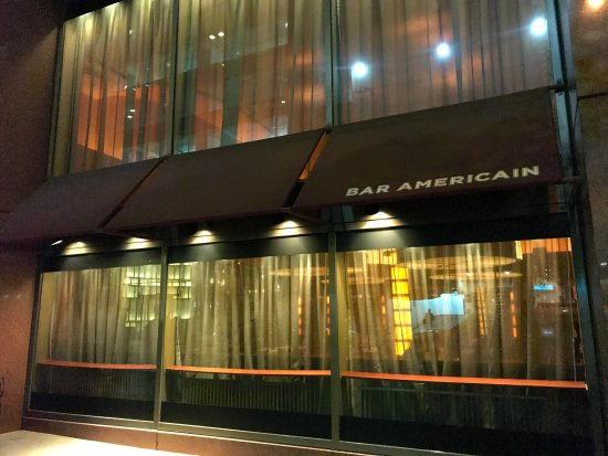 bar american picture of bar americain new york city. Black Bedroom Furniture Sets. Home Design Ideas