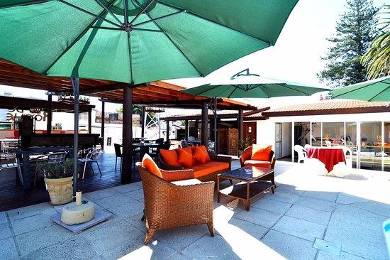 Hotel Concorde: Patio de la Piscina