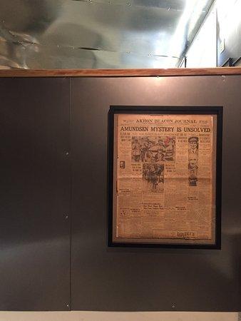 North Pole Expedition Museum: Originali del tempo
