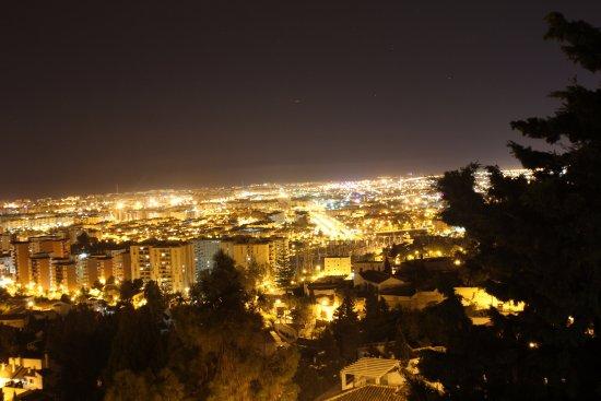 Hotel Villa Guadalupe: Uitzicht vanuit ons balkon