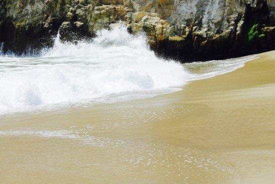 Davenport, Califórnia: Shark Fin Cove Beach