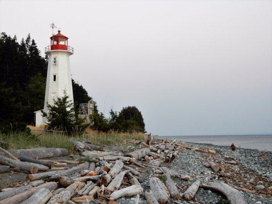 Quathiaski Cove, Canadá: faro