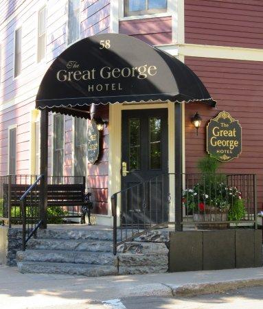 The Great George: The front door