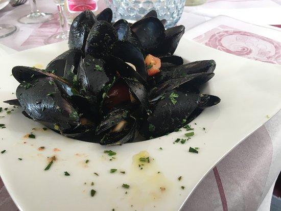 Piatti Spaiati - Le Marionette : cozze alla marinara