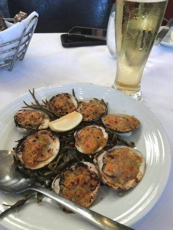 ไอสลิป, นิวยอร์ก: Baked clams