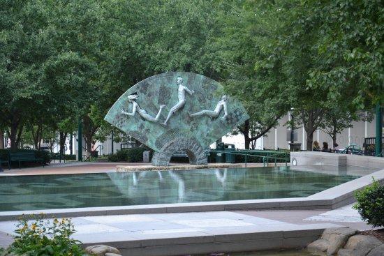 Centennial Olympic Park: Een kunstwerk