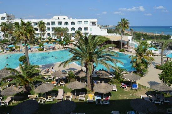 Vincci Nozha Beach Resort: Pohled z okna pokoje č. 2215