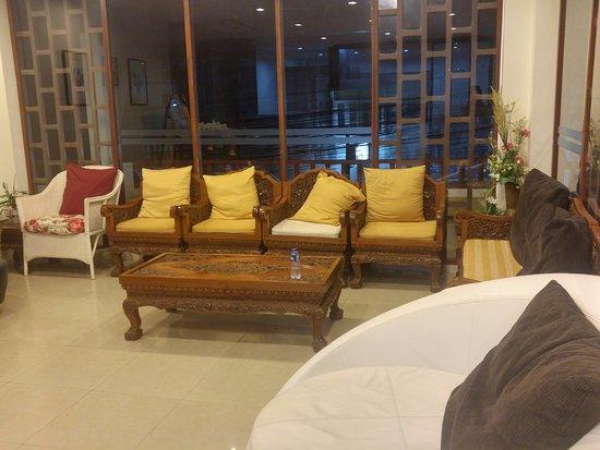 Orientala spa : 二樓休息區