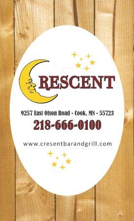Cook, Μινεσότα: Menu