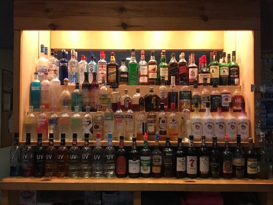 Cook, MN: Large liquor selection