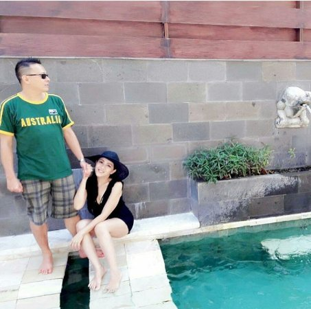 Bali Dynasty Resort Hotel: a lot of selfie spot for selfie inthis hotel