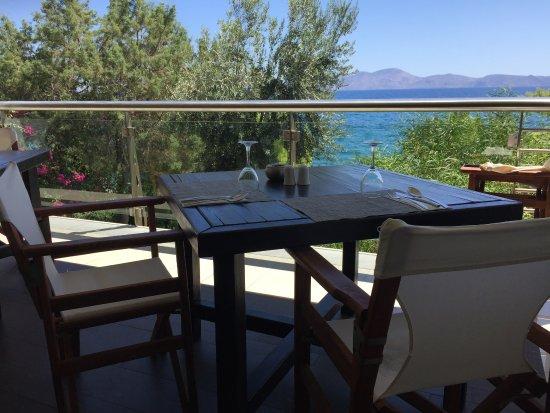 Thermisia, Grèce : La terrazza