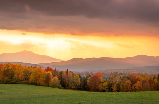 Manchester, VT: Autumn in the Mountains