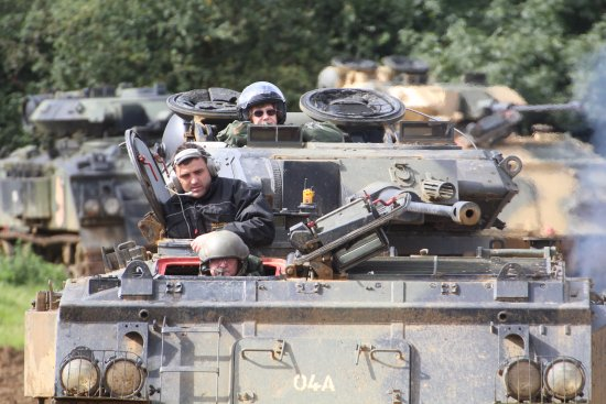 Lutterworth, UK: Tank Driving Experience