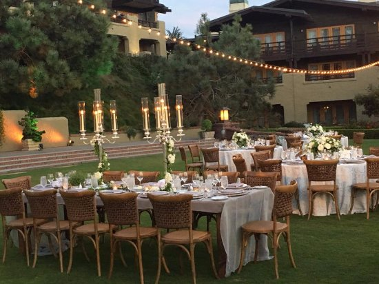 Outdoor Wedding After Ceremony Picture Of The Lodge At