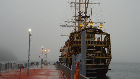 Pirate Ship Cruise At Hakone Picture Of Lake Ashi Ashinoko - Pirate ship cruise