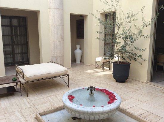 Riad Joya: Courtyard