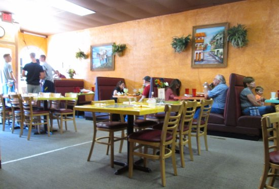 Cresco, IA: Interior view, clean and pleasant