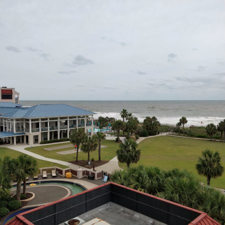 DoubleTree Resort by Hilton Myrtle Beach Oceanfront : View from 4th floor.