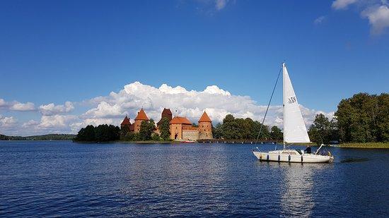 Trakai, Lituania: Тракайский замок