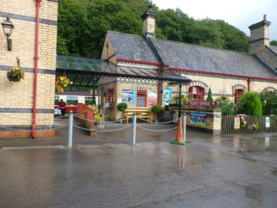 Bowness-on-Windermere, UK: the ticket office & entrance