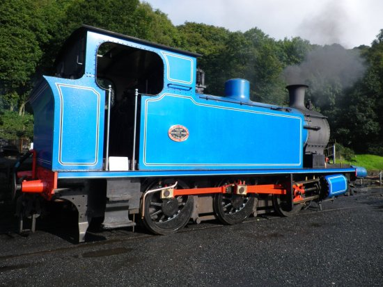 Bowness-on-Windermere, UK: one of the old trains