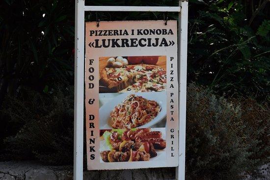 Sipanska Luka, Kroasia: Sign