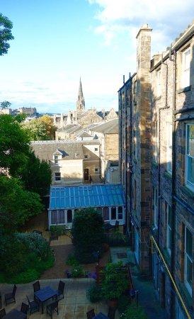 Best Western Plus Edinburgh City Centre Bruntsfield Hotel: My view from 143