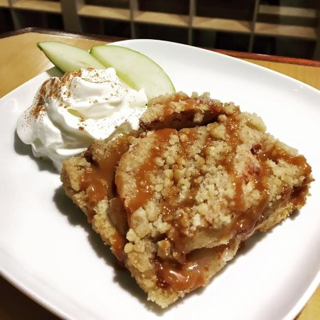 Ballston Spa, NY: Fresh Baked Apple Crisp