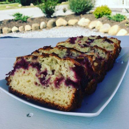 Ballston Spa, NY: Raspberry Almond Bread